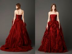 Tuesday Top 10 Red Wedding Dresses - fashion world and fashion show | fashion world and fashion show