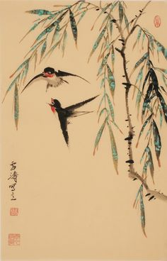 Chinese Willow Paintings
