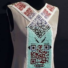qr code dress