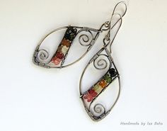 Silver and watermelon tourmaline | Flickr - Photo Sharing!