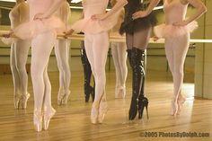 funny pictures, black swan, goth, black heels, ballet, shoe, dance, boots, photographi