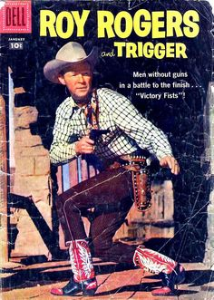 Roy Roger Comic 1958 - oh so loved Roy Rogers -