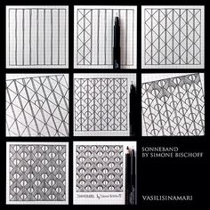 zentangl pattern