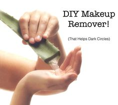 Gentle & Soothing Makeup Remover (that actually helps dark circles)!