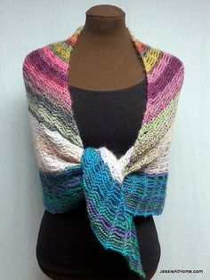 Unchained Shawl from Jessie At Home