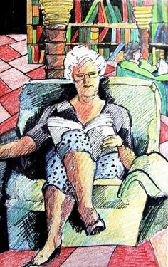 Reading and Art - Rae Andrews