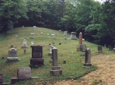 Shepherd Cemetery  Marshall County  West Virginia  USA