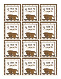 Dollhouse Bake Shoppe: FREE Christmas Printables, Gift Tags & Homemade Gift Ideas