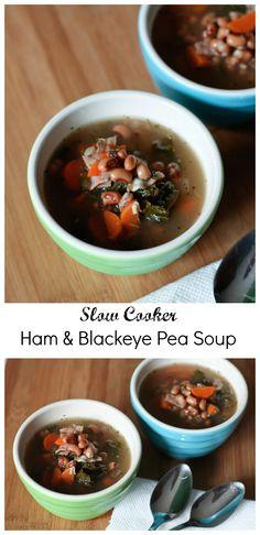 Slow Cooker Ham & Bl