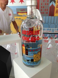 New Chicago flavor of vodka from Absolute