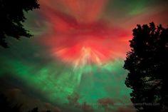 The Aurora Borealis, In Northern Michigan