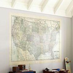 USA Map Decal #pbteen