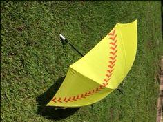 "Softball 60"" Umbrella $14.95"