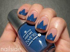 Nailside: Nude Zigzag