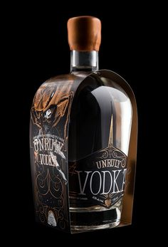 Unruly Vodka and Unruly Gin on Packaging of the World - Creative Package Design Gallery