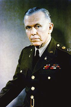 "George Catlett Marshall -Dec 31, 1880 – Oct 16, 1959 was an American military leader, Chief of Staff of the Army, Sec of State & the third Secretary of Defense. Once noted as the ""organizer of victory"" by Winston Churchill for his leadership of the Allied victory in WWII, Marshall served as the US Army Chief of Staff during the war and as the chief military adviser to President Franklin D. Roosevelt."