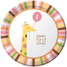 1st Birthday Zoo Party