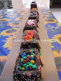 Train Birthday Cakes birthday parti, cake idea, train cakes, homemad train, train birthday cakes, 2nd birthday