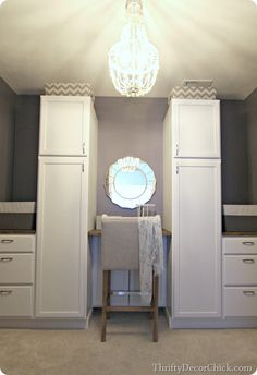 closet makeovers, bedroom closets, master closet, closet storage, painted kitchen cabinets