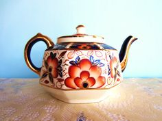 Gibsons Staffordshire Teapot  English Teapot by AmeliaRoseVintage, $42.00