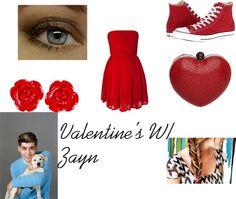 zayn malik valentine's day card