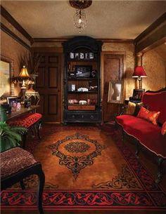 decor, idea, concret floor, floor rugs, carpet