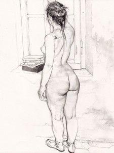 """Riccardo Mannelli: """"Un corpo è sempre sincero e racconta sempre la verità a prescindere dall'uso che ne fa il proprietario. A me affascina mettere in evidenza il racconto del corpo, di qualsiasi corpo."""""""