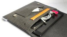 iPad Mini Sleeve/ Mini iPad/ iPad 2 Case Cover Organizer by Bholsa, $41.00
