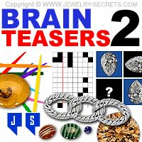 ► ► Start out the New Year with some Fun and Free Brain Teasers! Jewelry Related, of course! :) brain teaser
