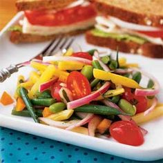 Multibean Salad | MyRecipes.com