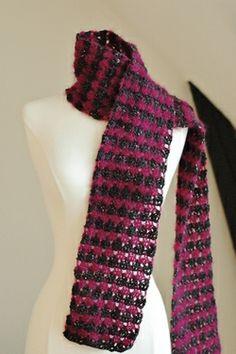 Garnet Crochet Scarf | By Number 19