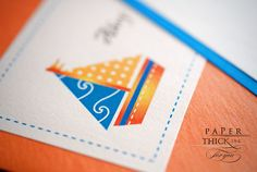 Ahoy: It's a Boy Nautical Sailboat and Pirate Baby Shower Invite