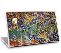"""Irises by Vincent van Gogh for the 17"""" MacBook Pro"""