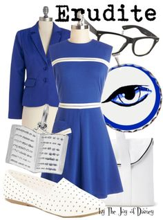 Outfit inspired by the Erudite faction of the movie Divergent! -- Non-Disney