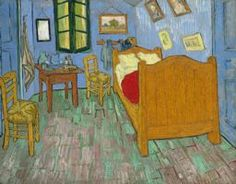 """@ Art Institute of Chicago — Vincent van Gogh, """"The Bedroom"""" 1889 — http://ow.ly/8Yyxx"""
