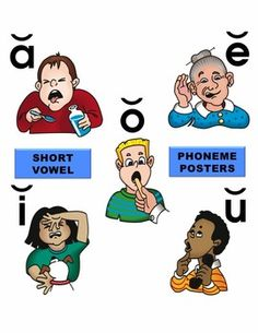 Short Vowel Phoneme Posters... This is one of the best I've seen!