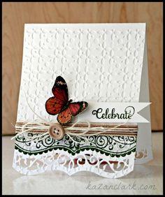 JustRite Celebrate Butterfly Card Kazan