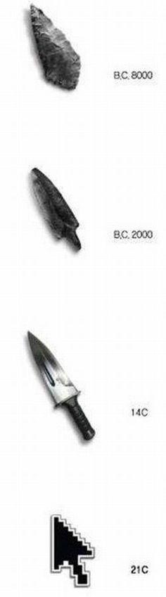 evolution arrow weapon