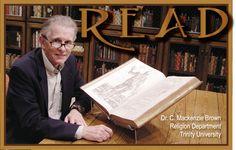 READ Poster, Professor C. Mackenzie Brown, Religion