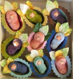 miniature walnut babies