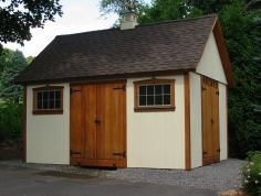 Shed with double doors (plans)