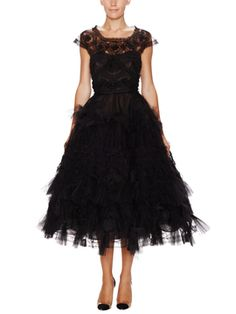 Tulle Cap Sleeve Fit