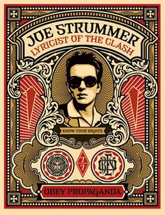 Obey Jpe Strummer Stamp