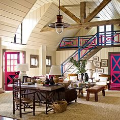 96 Living Room Decorating Ideas | Make Large Rooms Cozy with Multiple Seating Areas | SouthernLiving.com
