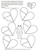Free 1. OA. 5  1.OA. 6 Addition, Adding and Subtracting within 20 and Valentine's Day  http://idreamoffirstgrade.blogspot.com/2013/02/addition-adding-and-subtracting-within.html