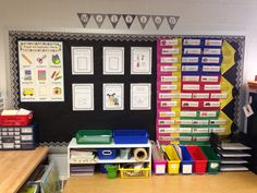 Kindergarten Writing Station