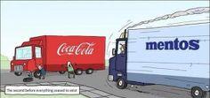 Impending doom! But shouldn't it be Diet Coke?
