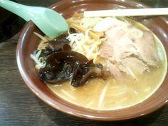 餃子の浜っ子@横浜西口  味噌ラーメン    2012/3/5