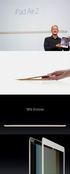 Apple's new iPad Air 2 is thinner than a pencil. That means traveling with your iPad is easier than ever!