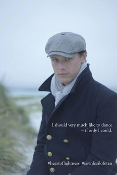 Pic of Sam Heughan- Light of Darkness - Oh my he looks so so so so young.   I love this pic of Sam Light